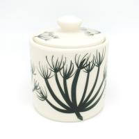 Hogweed Pottery シュガーポットw